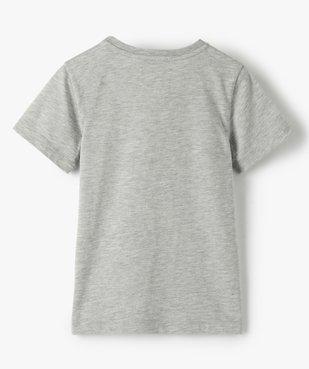 Tee-shirt garçon avec poche poitrine avec motif vue3 - GEMO (ENFANT) - GEMO