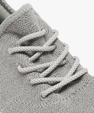 Baskets homme recyclées style chaussettes ultra légères - Mieux vue6 - GEMO C4G HOMME - GEMO