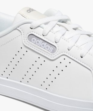 Baskets femme unies à lacets – Adidas Courtpoint Base vue6 - ADIDAS - Nikesneakers