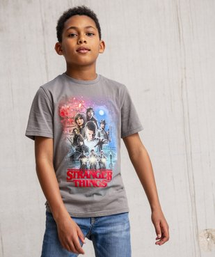 Tee-shirt garçon avec motif XXL – Stranger Things vue6 - STRANGER THINGS - GEMO