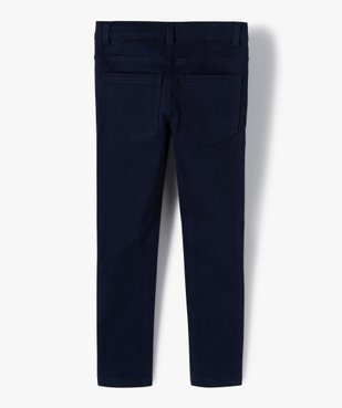 Pantalon garçon coupe skinny en toile extensible vue3 - Nikesneakers (ENFANT) - Nikesneakers