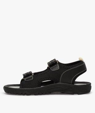 Sandales garçon à semelle crantée et fermeture scratch vue3 - Nikesneakers (ENFANT) - Nikesneakers