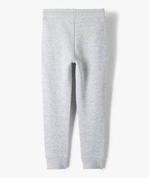 Pantalon de jogging garçon avec intérieur molletonné vue3 - GEMO (ENFANT) - GEMO