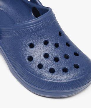 Sabots garçon unis avec perforations vue6 - Nikesneakers (ENFANT) - Nikesneakers