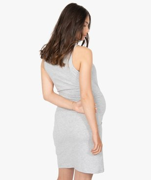 Nuisette de grossesse et d'allaitement imprimée à bretelles vue3 - GEMO (MATER) - GEMO