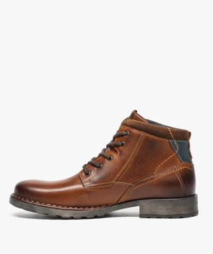 Boots homme style workwear vue3 - GEMO (CASUAL) - GEMO