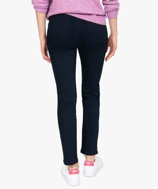 Jean femme slim à taille haute ultra stretch - L26 vue3 - GEMO(FEMME PAP) - GEMO