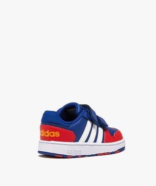 Baskets bébé garçon multicolores – Adidas Hoops 2.0 vue4 - ADIDAS - GEMO