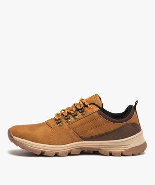 Chaussures de trekking homme à lacets – Koh-Lanta vue3 - KOH-LANTA - Nikesneakers