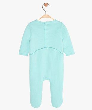 Pyjama bébé garçon à message humoristique - GEMO x Les Vilaines filles vue3 - VILAINES FILLES - GEMO
