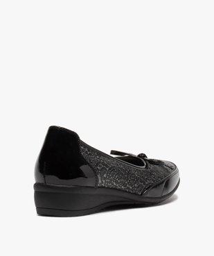 Ballerines femme à détails vernis et semelle intérieure cuir vue4 - Nikesneakers(URBAIN) - Nikesneakers