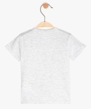 Tee-shirt bébé garçon imprimé - Monsieur Madame vue3 - MONSIEUR MADAME - GEMO