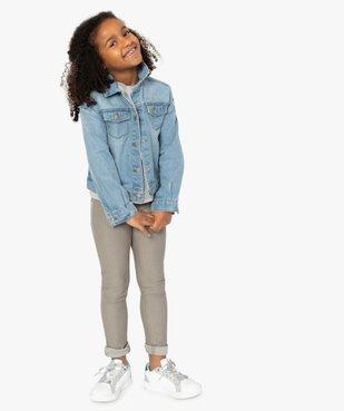 Veste fille en jean – Lulu Castagnette vue1 - LULUCASTAGNETTE - GEMO