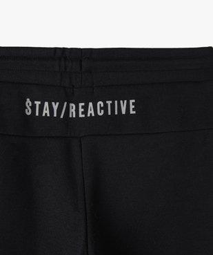 Pantalon de jogging garçon avec zips fantaisie sur l'avant vue4 - GEMO (ENFANT) - GEMO