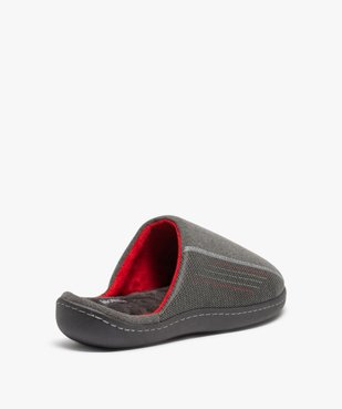 Chaussons homme forme mule - Isotoner vue4 - ISOTONER - GEMO