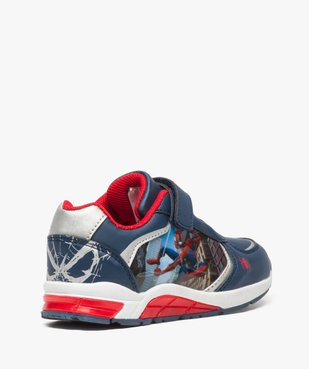 Baskets garçon en toile avec semelle clignotante et motif Spiderman  vue4 - SPIDERMAN - GEMO