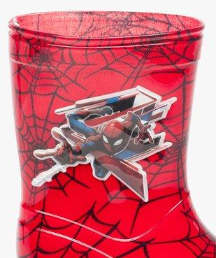 Bottes de pluie garçon à imprimé Spiderman vue6 - SPIDERMAN - GEMO