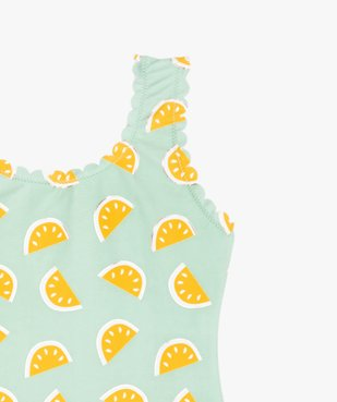Maillot de bain fille une pièce avec motifs pastèques vue2 - Nikesneakers (ENFANT) - Nikesneakers
