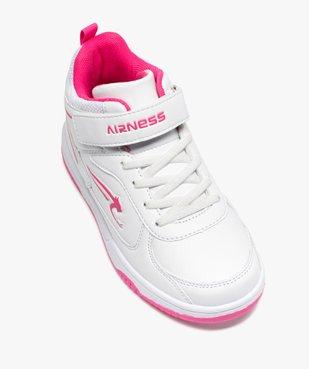 Baskets fille semi-montantes bicolores - Airness vue5 - AIRNESS - GEMO