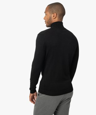 Pull homme à col roulé en maille fine vue3 - Nikesneakers (HOMME) - Nikesneakers