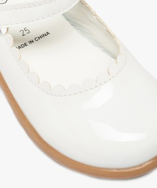 Ballerines fille en forme de babies fermeture scratch vue6 - Nikesneakers (ENFANT) - Nikesneakers
