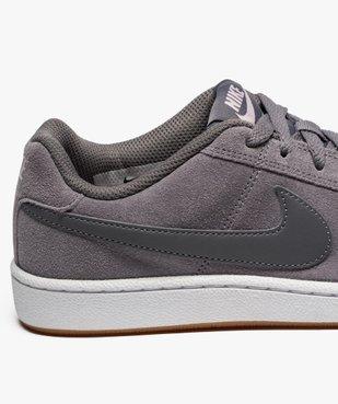 Baskets basses Nike Court Royale Suede vue6 - NIKE - GEMO