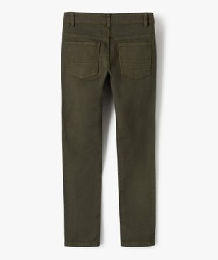 Pantalon garçon style jean slim 5 poches vue4 - GEMO (JUNIOR) - GEMO