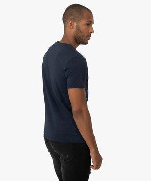 Tee-shirt homme avec motif Star Trek vue3 - STAR TREK - GEMO