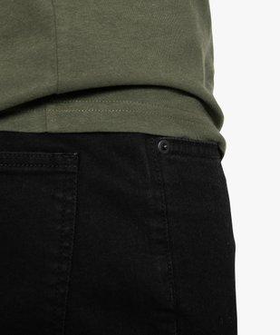 Jean homme straight en coton stretch vue2 - GEMO (HOMME) - GEMO