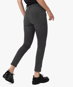 Pantalon femme coupe Slim taille haute – L26 vue3 - GEMO(FEMME PAP) - GEMO