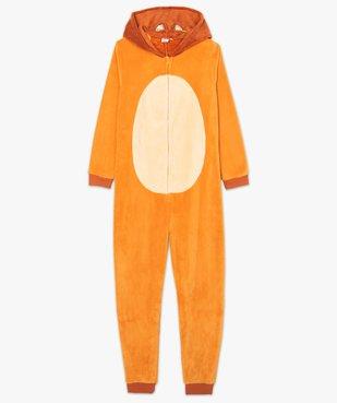 Combinaison d'intérieur femme à capuche à motif Bambi - Disney vue4 - DISNEY - GEMO