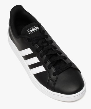Baskets homme bicolores à lacets - Adidas Grand Court Base vue5 - ADIDAS - Nikesneakers