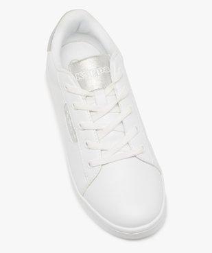 Tennis femme à lacets et détails contrastants - Kappa vue5 - KAPPA - Nikesneakers