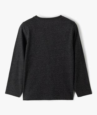 Tee-shirt garçon à manches longues motif squelette phosphorescent vue5 - GEMO (ENFANT) - GEMO
