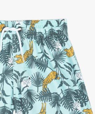 Short de bain garçon avec motifs tigres vue3 - GEMO (ENFANT) - GEMO