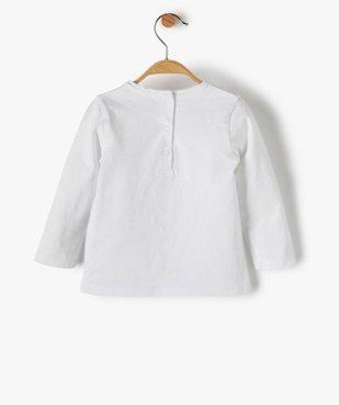 Tee-shirt bébé fille avec motif chat vue3 - Nikesneakers C4G BEBE - Nikesneakers