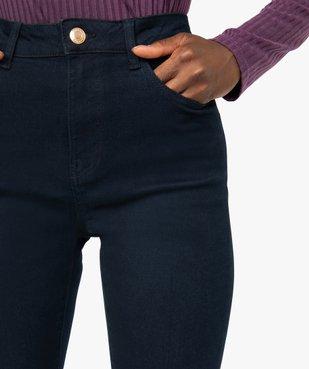 Jean femme slim taille haute extensible vue2 - GEMO C4G FEMME - GEMO