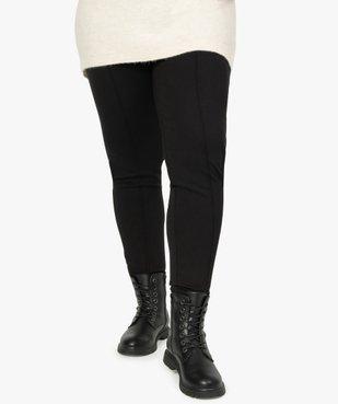 Pantalon femme avec bas zippé vue1 - GEMO (G TAILLE) - GEMO