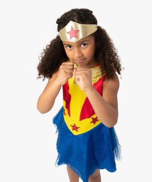 Déguisement fille Wonder Woman (2 pièces) vue1 - DC COMICS - GEMO