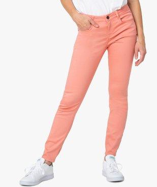 Pantalon femme coupe slim - Longueur L26 vue2 - GEMO(FEMME PAP) - GEMO
