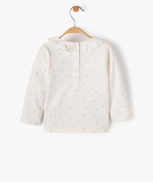Tee-shirt bébé fille avec motifs pailletés – Lulu Castagnette vue3 - LULUCASTAGNETTE - Nikesneakers
