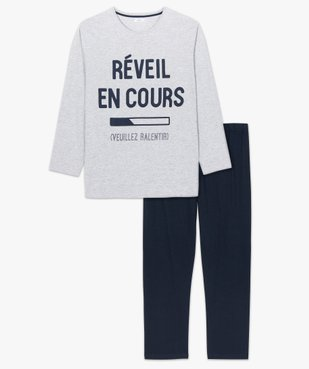 Pyjama homme à manches longues vue4 - Nikesneakers(HOMWR HOM) - Nikesneakers
