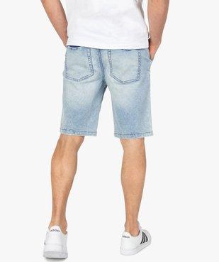 Bermuda homme en toile extensible aspect denim vue3 - Nikesneakers (HOMME) - Nikesneakers
