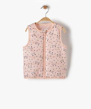 Manteau bébé fille à capuche 3 en 1 vue4 - GEMO(BEBE DEBT) - GEMO