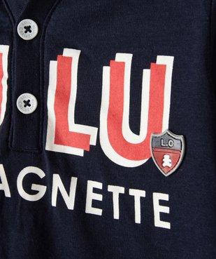 Tee-shirt bébé garçon à capuche – Lulu Castagnette vue3 - LULUCASTAGNETTE - GEMO