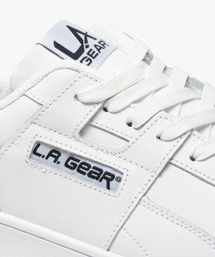 Tennis homme unies à lacets et semelle épaisse – LA Gear vue6 - L.A. GEAR - GEMO
