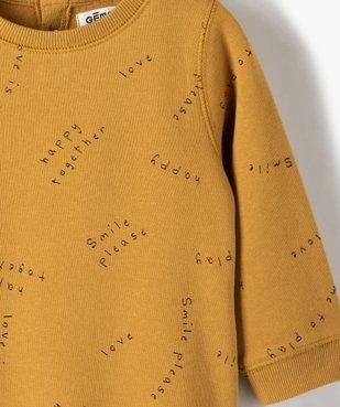 Sweat bébé mixte avec motifs et inscriptions vue2 - Nikesneakers C4G BEBE - Nikesneakers
