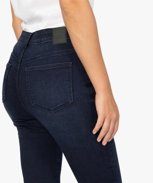 Jean femme coupe skinny taille haute vue2 - GEMO(FEMME PAP) - GEMO
