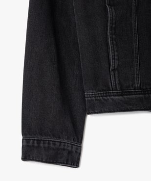 Veste fille en jean avec marques d'usures vue2 - GEMO (ENFANT) - GEMO