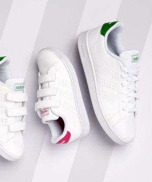 Baskets femme motifs perforés et lacets – Adidas Advantage K vue6 - ADIDAS - GEMO